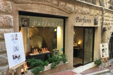 Grasse perfume shop