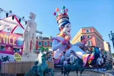 Nice Carnival Massena square