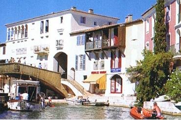 Port Grimaud pont